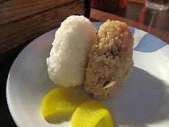 11料理:おにぎり@屋台・丸和前ラーメン・小倉・旦過市場