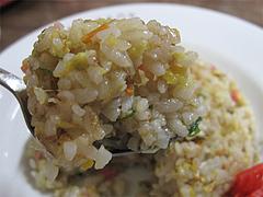 料理:ミニ焼飯アップ@金龍食堂・親富孝通り・天神