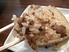 料理:かしわおにぎり食べる@中世博多うどん春月庵・承天寺前店