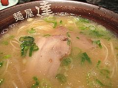 ランチ:ラーメン単品500円@麺屋達・高木