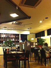 2店内:テーブル席@心灯・みなと温泉・波葉の湯・ベイサイドプレイス博多