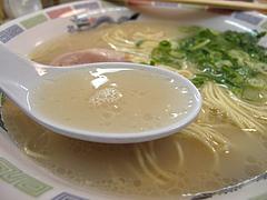 ランチ:ラーメンスープ@博多ラーメンはかたや・西新店