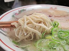 13ランチ:純とんこつ麺@博多屋台ラーメン・満麺屋・北天神