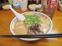 6ランチ:糸島豚豚骨ラーメン600円@ラーメン・伊都商店