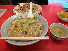料理:チャー丼700円@中華・華山・大橋