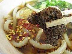 料理:肉うどんの具つまむ@中々うどん・博多区竹下
