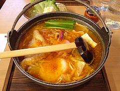料理:チゲ味めんちゃんこ@博多めんちゃんこ亭・ボックスタウン箱崎