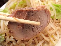 料理:つけ麺のチャーシュー2枚@らーめん大・福岡・大橋