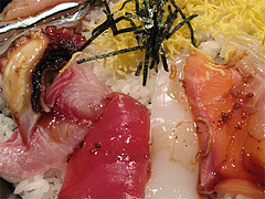 ランチ:海鮮丼食べる@海鮮炉端・一手一つ・大橋