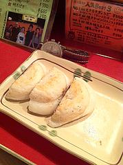 7料理:モチモチぎょうざ@博多っ子純情屋台・喜柳