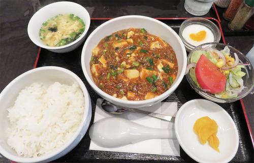 12麻婆豆腐定食
