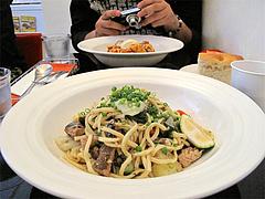 料理:秋サンマのペペロンチーノ大盛り@生パスタOOIWA(オオイワ)・平尾