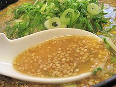 料理:味噌ラーメンスープ@ラーメン来来亭・大橋店・福岡