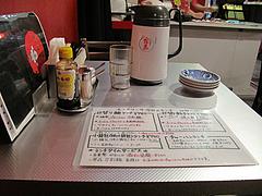 4店内:テーブル席@上海モンナリーサ・大名・天神西通り