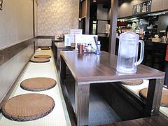 店内:小上がり・掘り炬燵@博多つけ蕎麦・串揚げ・博多大乗路・櫛田神社