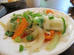 19ランチ:野菜炒め@らーめん酒場まんぼ亭・赤坂門市場