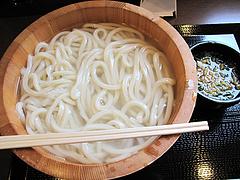 料理:釜揚げうどん大380円@丸亀製麺・那珂川店