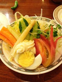 8野菜サラダ@ビアホール・みゅんへん