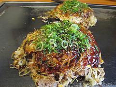6ランチ:肉玉そばライス650円@広島お好み焼き・ひらの・福岡店