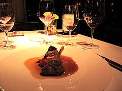料理:オリエンタルな子羊料理・かぐや姫スタイル@レストラン花の木・福岡
