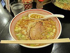 12ランチ:ばくだん屋のらーめん650円@廣島つけ麺本舗・ばくだん屋・大橋店