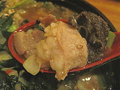 14ランチ:もつ鍋ラーメンのミックスもつ@居酒屋・井戸端・博多川端商店街