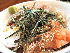 料理:海鮮丼裏@旬美食彩たなごころ・渡辺通