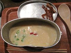 5チーズ+めんたい雑炊@はんごう雑炊の店・山・中洲