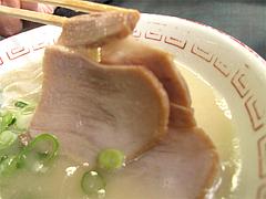 料理:ラーメンチャーシュー@長浜ナンバーワン天神店