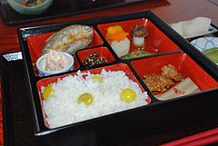 12鮎料理:鮎の開き御膳1,800円@旧川口邸・季節料理なごみ・八女市上陽町