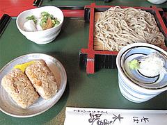 料理:サービスランチ700円@蕎麦・木曽路・福岡