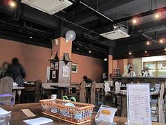 店内:テーブル席@喫茶軽食みらい・大楠