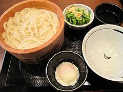 料理:まる得・釜揚げうどん390円@丸亀製麺・那珂川・福岡