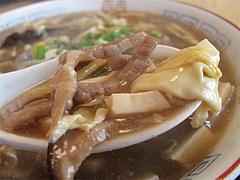 料理:酸辣湯麺の具@巧福・大橋