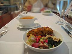 14ランチ:サラダブッフェとスープ@ブルースター・タカクラホテル福岡