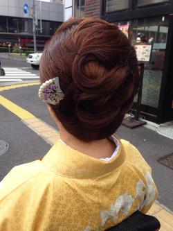 美容院10@新橋。銀座・ヘアセット・サヤ