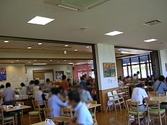 3店内:テーブル席・満席@JAにじ・耳納の里・バイキングレストラン夢キッチン
