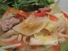料理:野菜胡麻坦麺の具@博多屋・渡辺通