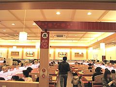 店内:テーブル席@かっぱ寿司・博多半道橋店