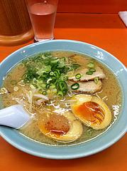 ランチ:ラーメン500円+煮卵100円@二丁目ラーメン・港・福岡