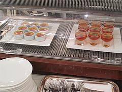21ランチ:冷たいデザートコーナー@ブルースター・タカクラホテル福岡