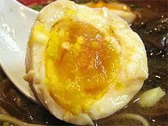 料理:新風麺の味玉子100円@博多新風・福岡市中央区高宮