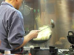 店内:皿うどん炒め中@ごはんや・たね田・白金