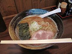 5ランチ:こってり豚骨魚介・らーめん680円@ラーメン・つけ麺・中華蕎麦・翠蓮