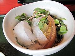 料理:そばの芽サラダ@蕎麦・木曽路・福岡