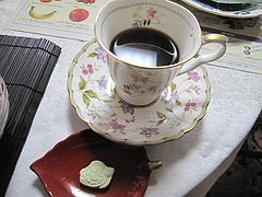 13ランチ:コーヒーと干菓子@吉浦亭