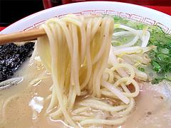 料理:ラーメン麺@王龍ラーメン・赤坂