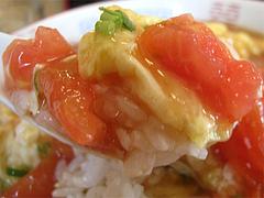 料理:トマト丼食べる@巧福・大橋