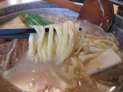 12新味めんちゃんこ豚骨麺@めんちゃんこ百道本店
