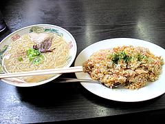 料理:ラーメンセット700円@山ちゃん・ちゃんぽん